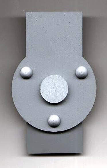 push button hinged clasp