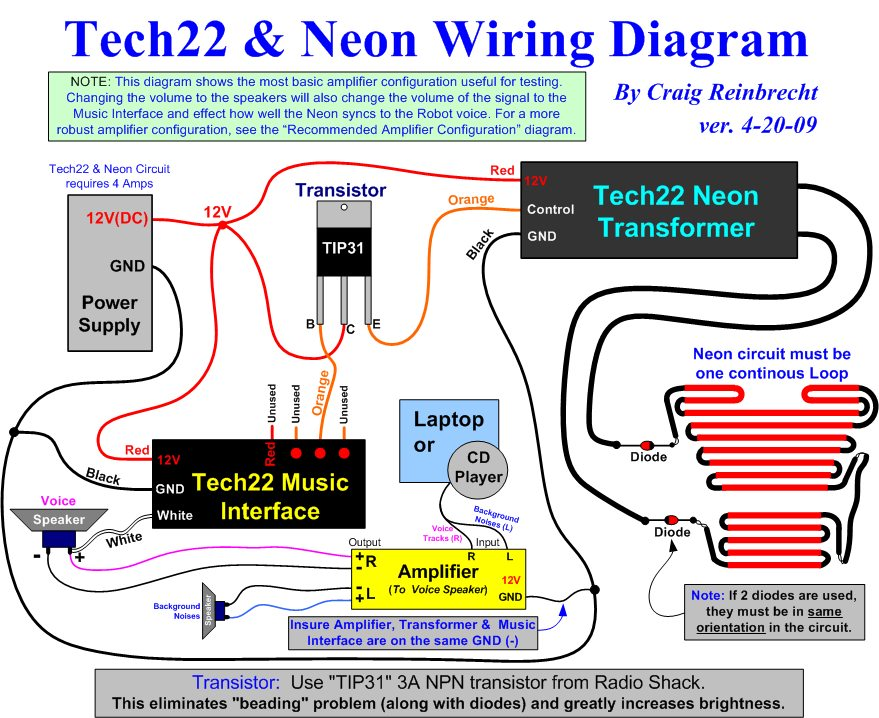 Tech22 Neon_Wiring_Diagram_v4 20 09 the b9 robot builders club wiring diagrams transformer for door bell at soozxer.org
